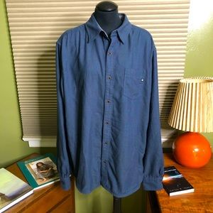 Marmot Cotton Blend Button Down Shirt- Men's XL